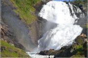 норвегия водопад скандинавия