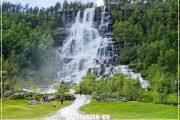 норвегия водопад фьорды тур