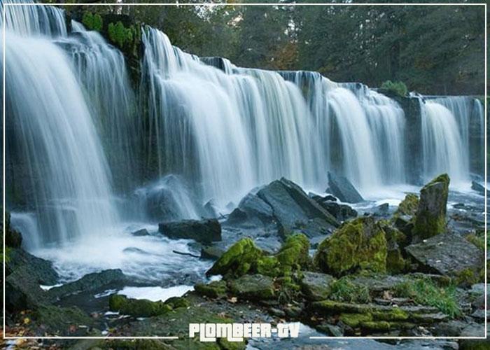 водопад Кейла достопримечательности эстония