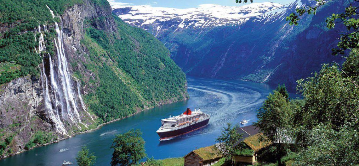 паром путушествие скандинавия