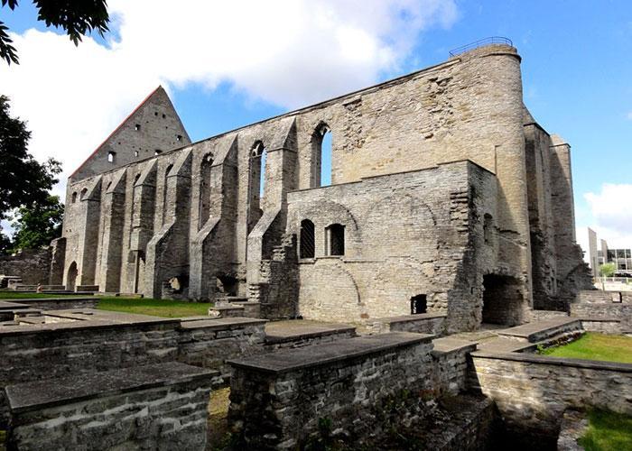 Достопримечательности Таллинна: монастырь Святой Бригитты