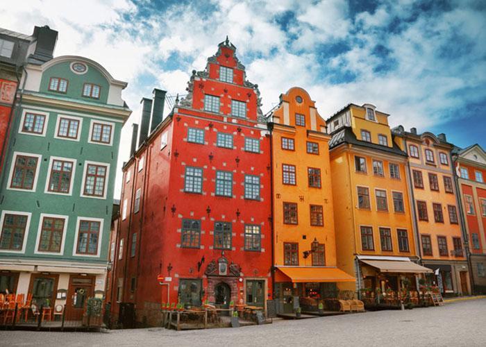 Один день в Стокгольме: старый город