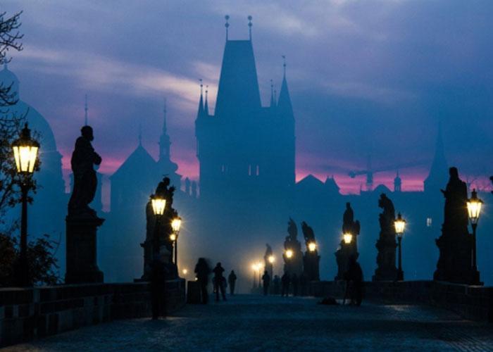 Прогулки по ночной Праге
