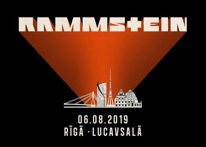 Концерт Rammstein в Риге 6 августа 2019