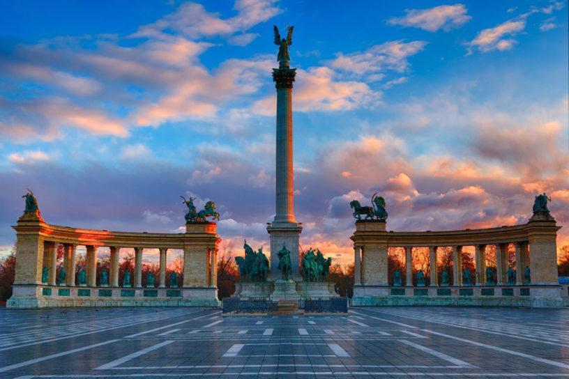 Будапешт Площадь Героев