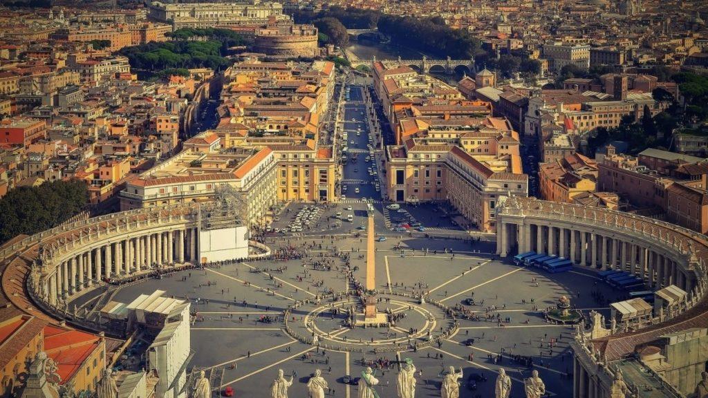 Ватикан площадь