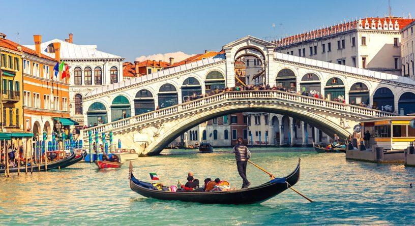 мост Риалто Венеция