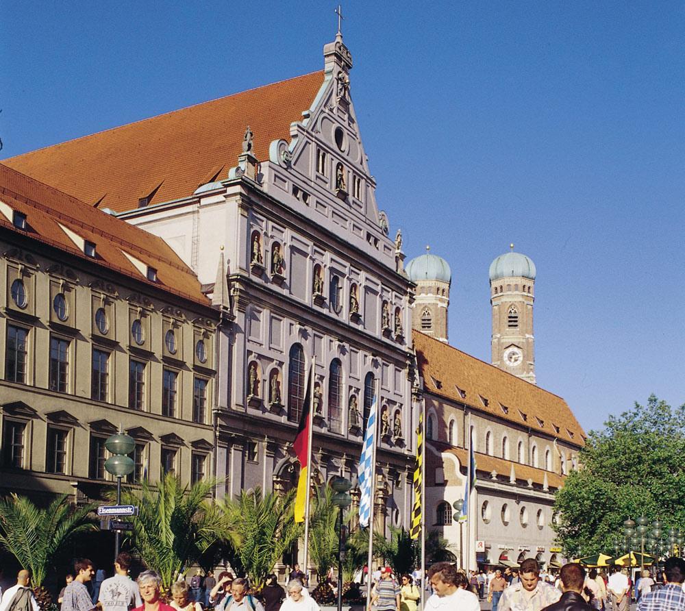 собор св. Михаила Мюнхен