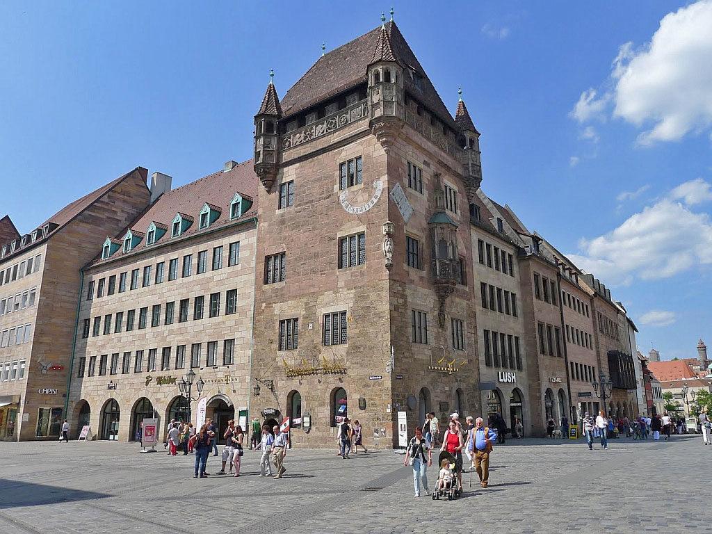 жилой дом Nassauer Haus Нюрнберг