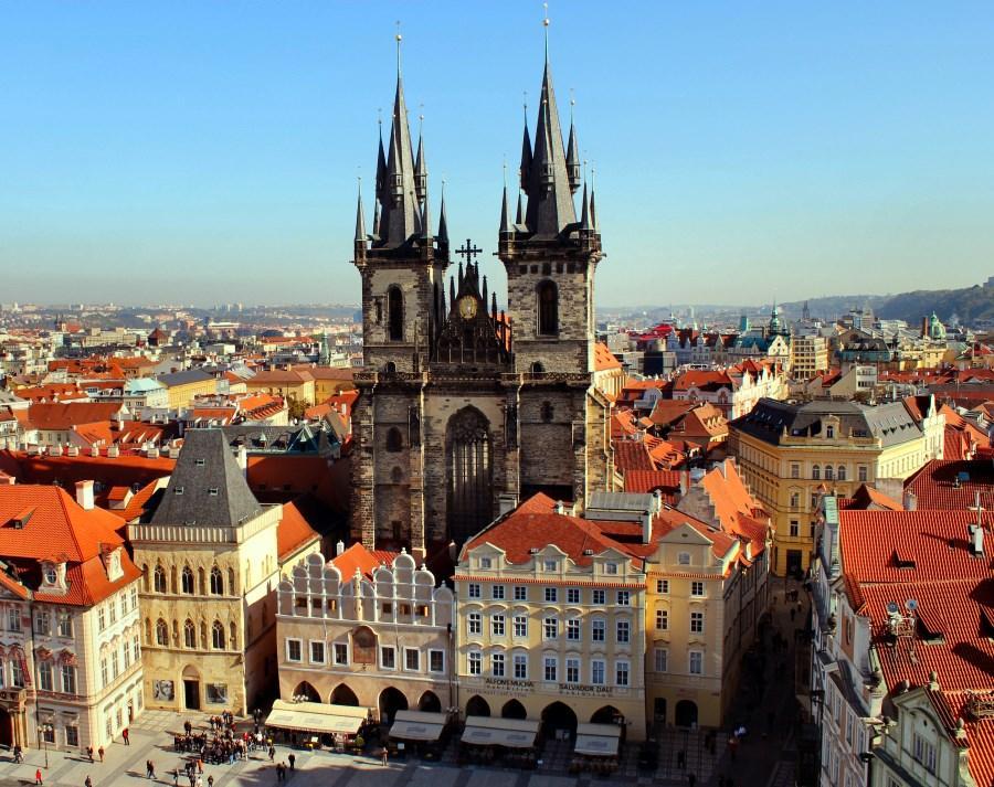 Тынский храм Девы Марии Прага