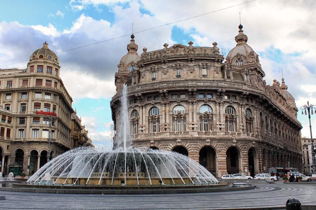 фонтан в Генуе