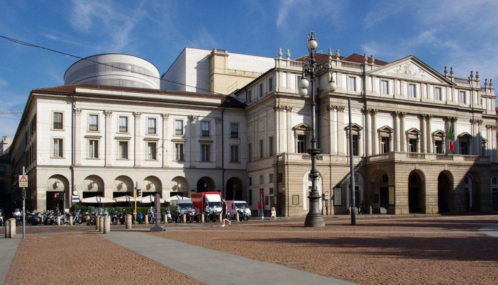 оперный театр Ла-Скала в Милане