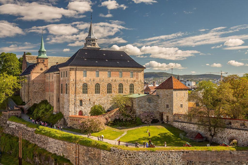 Крепость Акерхюс в Осло