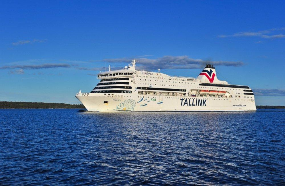 Паром Tallink Silja