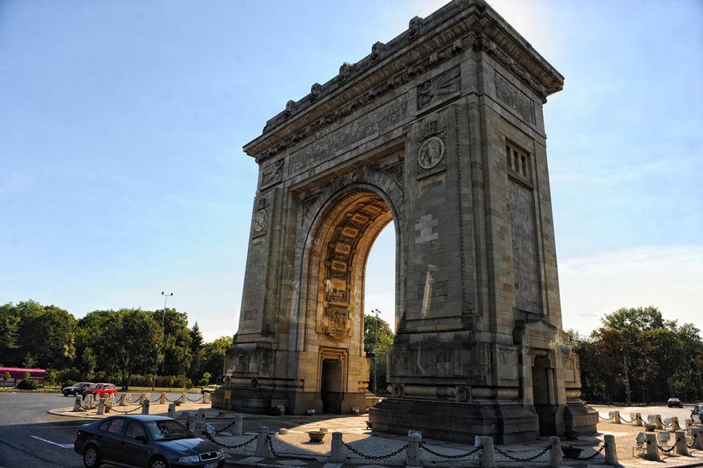 Бухарест Триумфальная арка