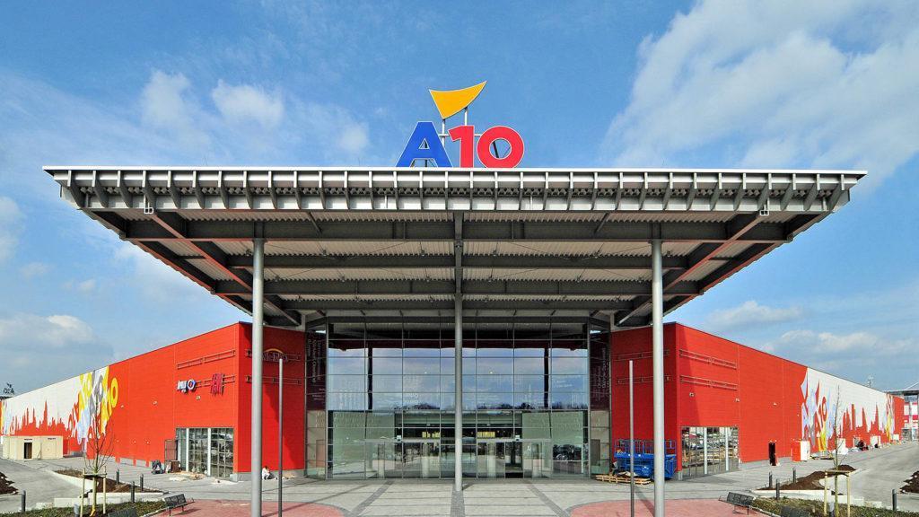 торговый центр А10 Берлин