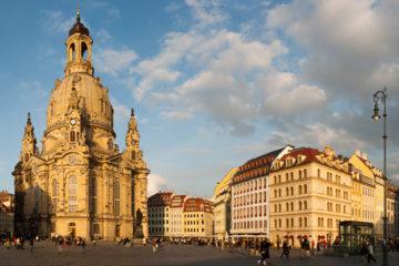 Панорама Дрездена