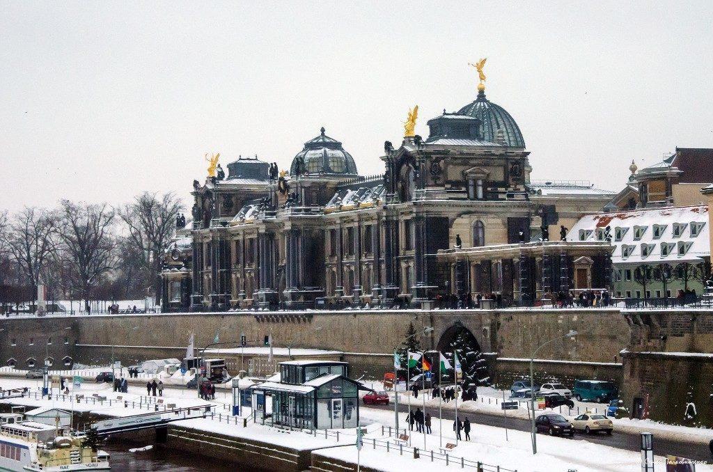Брюльская терраса Дрезден