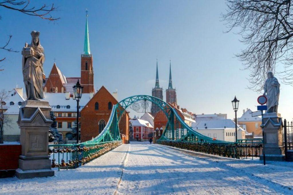 мост во Вроцлаве