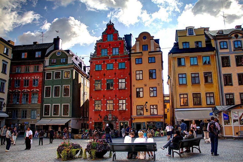 Старая площадь в Стокгольме