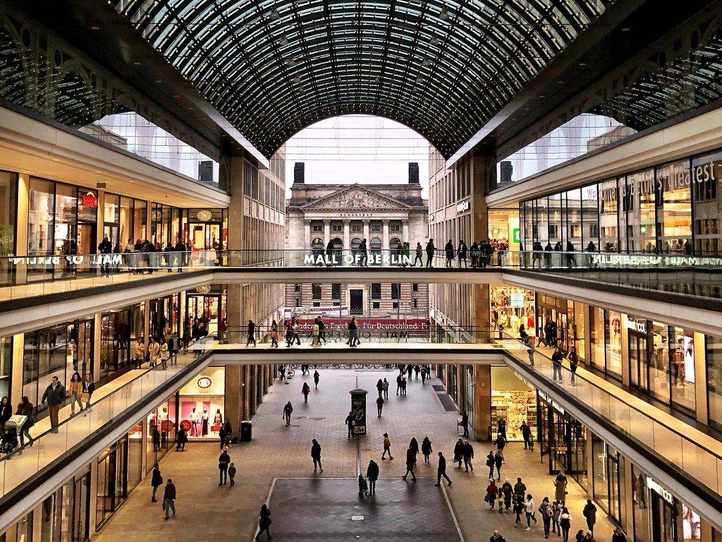 шопинг в ТЦ Mall of Berlin