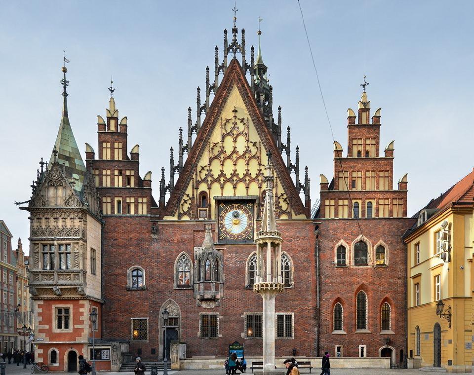 Вроцлавская ратуша